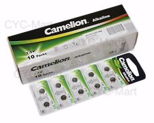 Genuine Camelion Lr41 Ag3 192 L736 Batteries X100 Pcs Post With Tracking