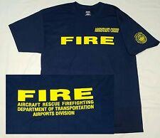 Assistant Chief HAWAII FIRE DEPT HFD T-Shirt XL Airport AIRCRAFT RESCUE Honolulu