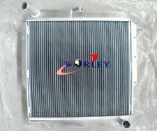 ALUMINUM RADIATOR TOYOTA LANDCRUISER 70 SERIES FJ73/FJ75 PETROL 85-93