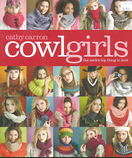 Cowlgirls, The Neck's Big Thing To Knit by Cathy Carron, Knitting Pattern Book