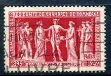 TIMBRE FRANCE OBLITERE N° 849 CHAMBRES DE COMMERCE PARIS photo non contractuelle