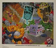 ROBERT WILLIAMS EXPLORATION OF THE SUBCONSCIOUS I-40 SIGNED LIMITED EDITION ART