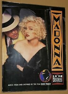 New Rare Madonna I'm Breathless Sheet Music Song Book Dick Tracy Promo Vogue LP