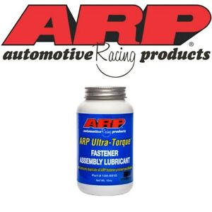ARP 100-9910 Ultra Torque Fastener Assembly Lubricant 10 oz. Brush Top (5026)