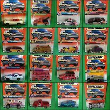 Matchbox 1996 1997 1998 1999 Diecast Model Cars In Blisters