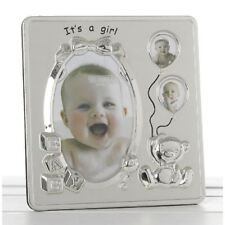 Its a Girl 3 pic photo frame Baby Shower Birthday Christening Baby Picture