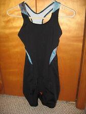 women's HIND cycling triathlon tri suit bib tank shorts onesy size S w/padding