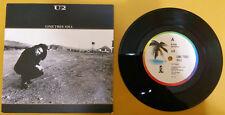 "U2 One Tree Hill - Australian 7"" vinyl single rare taken from The Joshua Tree"