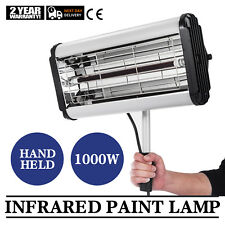 1 KW Infrared Paint Dryer Shortwave Body Panel Curing Lamp Hand Held
