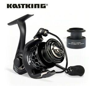 KastKing Mela/Mela II Upgrading Carbon Fiber Drag Spinning Reel with Extra Spool