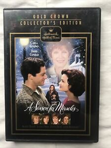 EUC: A Season For Miracles (DVD, 2002, Gold Crown Collector's Edition) Hallmark