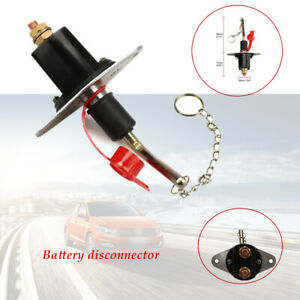 250Amp Disconnect Battery Isolator Cut Off Kill Switch Car Marine Boat 250-1000A