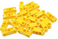 LEGO Technik - 20 x Verbinder 1x3 gelb / 2 x Achsloch 1 x Loch 32184 NEUWARE