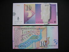 MACEDONIA  10 Denari 2011  (P14i)  UNC