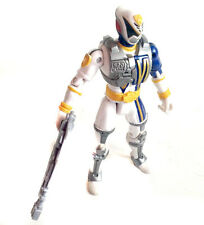 "POWER RANGERS SPD Space police WHITE Ranger 5"" talking figure"