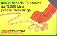 29-Scheda telefonica Telecom Sms Service Cabina scad.06/2000 lire 5000