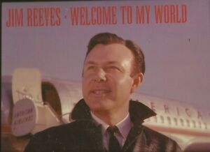 Jim Reeves - Welcome To My World   ( Bear Family 16 CD Box Set with Book )