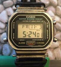 Casio G-Shock DW-5600 Screwback. Parts Or Repair. Steel Case. 1987 Japan H 901