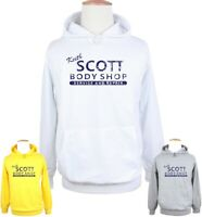 Keith Scott Body Shop One Service And Repair Print Sweatshirt Unisex Hoodies Top