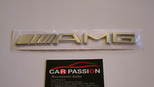 stemma logo mercedes AMG posteriore cromato fregio rear emblem classe A B C CLS