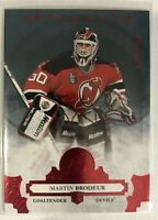 2017-18 Martin Brodeur Upper Deck Artifacts Ruby Stars #133 New Jersey #/299