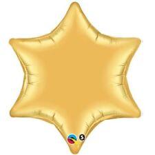 Ballons de fête dorés etoile pour la maison toutes occasions