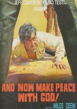 AND NOW MAKE PEACE WITH GOD DVD Spaghetti Western Fabio Testi Italy Jeff Cameron