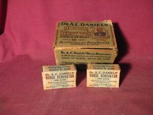 Antique Dr. Daniels Horse Renovator Veterinary Medicine