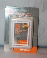 Ultimate Survival Technologies Survival Tip Playing Cards Educational Card Deck