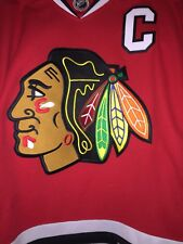 NHL CHICAGO BLACKHAWKS REEBOK JERSEY RED Size S/P JONATHAN TOEWS #19