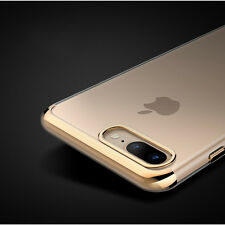 Luxury Ultra Slim Shockproof Silicone Clear Case Cover for  iPhone 6s 6 7 Plus