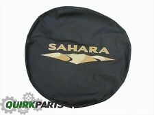 2007-2017 Jeep Wrangler Sahara Spare Tire Cover MOPAR GENUINE OEM BRAND NEW