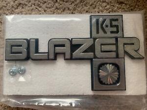 Fender Emblem 1981-1988 Chevy Blazer K5 Blaze