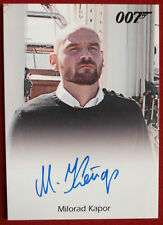 JAMES BOND - SKYFALL - MILORAD KAPOR as Silva's Henchman - Autograph Card