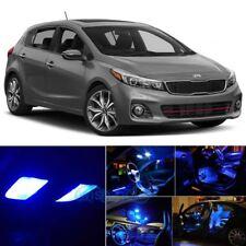 Blue LED Lights Interior Package Kit + License Light For 2010-2018 Kia Forte PZ