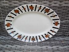 PLAT OVALE    ANCIEN     BADONVILLER  2137  / Longueur 31,5 cm
