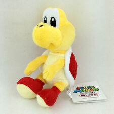 Red Koopa Troopa Super Mario Bros Plush Toy Turtle Soft Fluffy Teddy Doll 6""