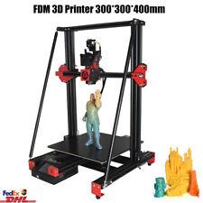 FDM 3D Printer DIY Kit PLA 3.5'' LCD Touch Screen 300*300*400mm Resume Printing
