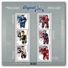 2014 Original Six-™: Permanent-™ Domestic Stamps - Pane of 6