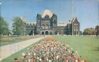 BOAC World Wide Air Routes Ontario Parliament Buildings