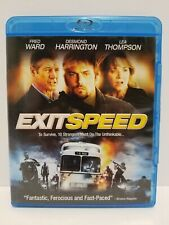 Exit Speed: Blu-ray movie - Canadian - NO SCRATCHES - tested - with Warranty