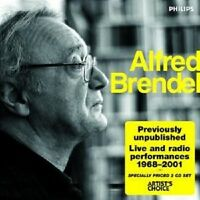 "ALFRED BRENDEL ""LIVE & RADIO PERFORMANCES"" 2 CD NEUWARE"