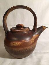 Master Potter Peter Sohngen Signed Teapot~SNGN~Memphis Academy of Art~Studio Art