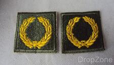 Pair WWII US Army Meritorious Service Unit Insignia Badges, Class A, Type I