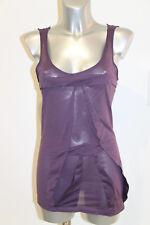 hübsch T-Shirt Hafenarbeiter Baumwolle lila M&F Girbaud Größe 38 fr 42i 36D