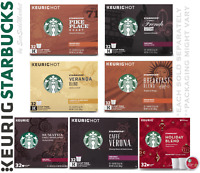 Keurig Starbucks 32 K-Cups Pods Pike Place French Veranda Breakfast Blend K Cup