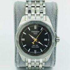 Tissot 1853 PRC 100 Swiss Day/Date Stainless Steel Mens Wrist Watch P870/970