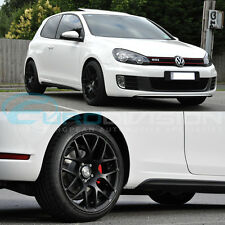 "GTC Wheels GT-CX 18"" Matte Black VW Golf MK5 / MK6 / MK7 Fitment TSI TDI GTI R R"