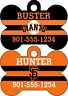 San Francisco Giants Custom Pet Id Dog Personalized w/ Name & Number