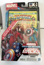 Marvel Universe Legends Greatest Battles Comic Packs Captain America Hawkeye